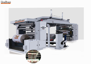 Machine d'impression flexo CI quatre / six couleurs WX-4/6